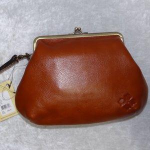 Patricia Nash Savena Kiss Lock Clutch Wristlet Bag